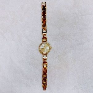 Coach Gold Watch with crystals, Bracelet style